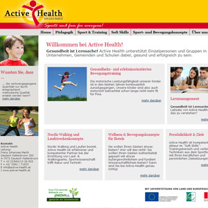 Webseite Erfolgsstory: Active Health